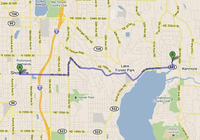 Shoreline CPA Map