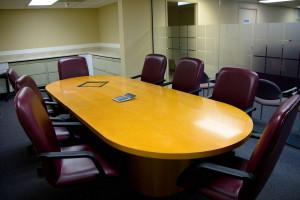 Interior of Huddleston Tax CPAs conference room