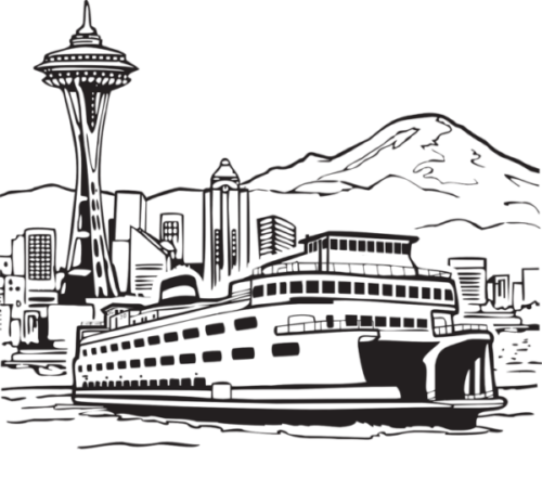 Sketch of Seattle To Represent City Tax Guides
